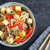 Wok tofu